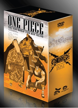 DVD : One Piece : ดีวีดี วันพีช The NewWorld Fish Man Island Boxset2 Vol.5-9