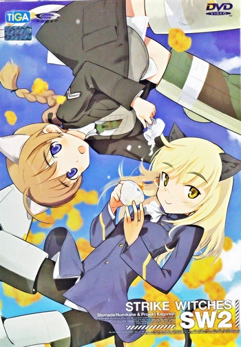 DVD : Strike witches SW1 vol.02 0